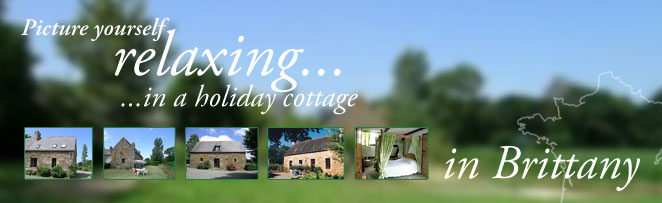 Picture yourself relaxing in a cottage in Brittany